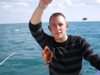 Peche en mer dans l Herault