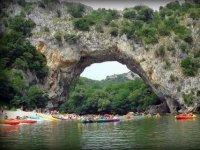 Canoe sur l Ardeche