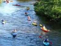 Kayak dans les gorges de l Ardeche