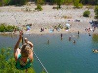 TYrolienne a Adventure Camp