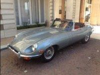 Location Jaguar type E a Nice