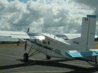 L'avion qui vous emmène sur la zone de saut