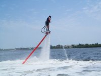 Initiation et bapteme de flyboard a Giens