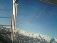 les alpes à environ 3000 m.