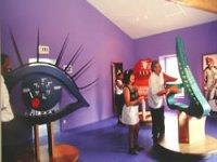 La salle des sens du musée