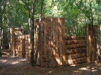 Forteresse dans les bois