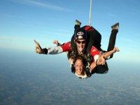 Baptême de parachute en tandem