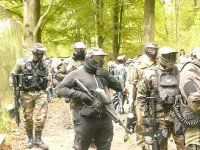paintball en groupe