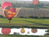 Les alentours d'Arras en montgolfiere