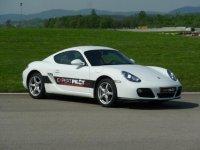Porsche sur le circuit de Geoparc