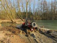 Buggy / SSV dans la boue