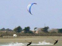 noirmoutier kite Navigation surveillée