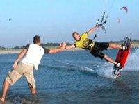 Découverte de kitesurfing