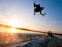 Wakeboard apres le travail