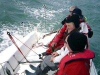 navigation a la voile a Bain de Bretagne