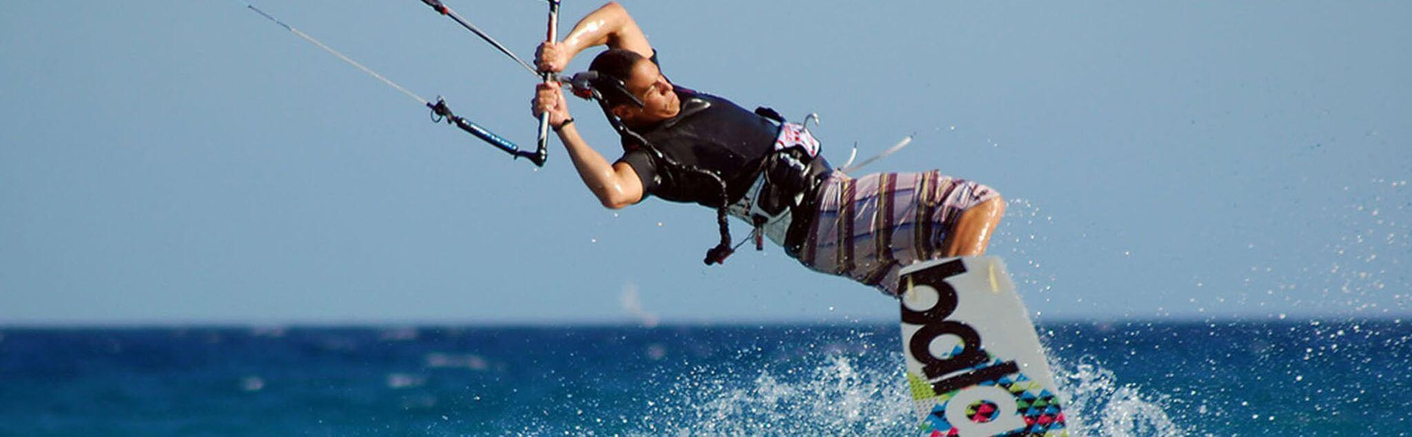 Kitesurf dans Marseille