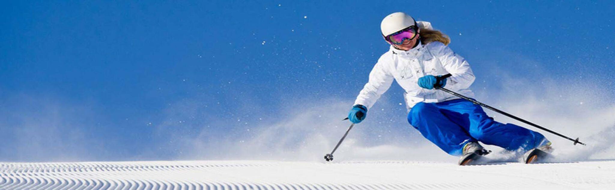 Ski dans Pra Loup