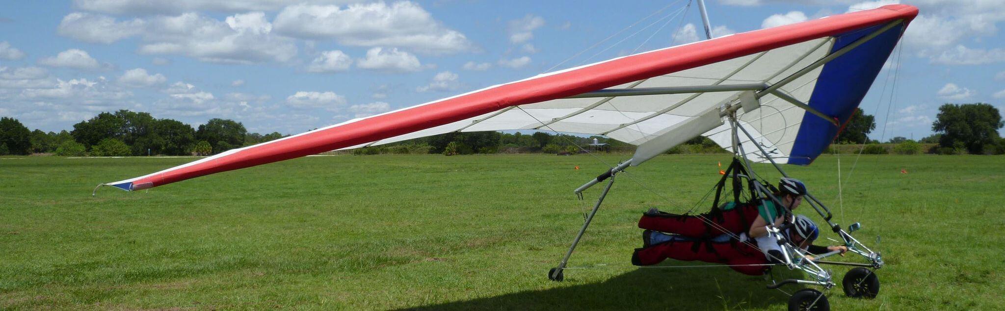 Deltaplane dans Saint Claude