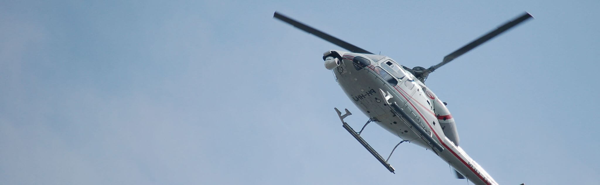 Vol en Hélicoptère dans Somme