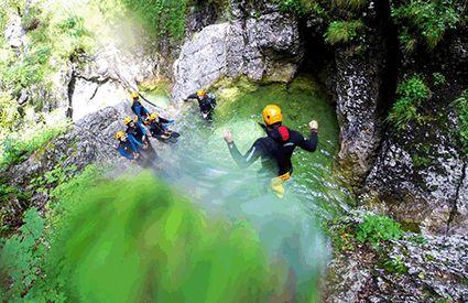 Canyoning dans France