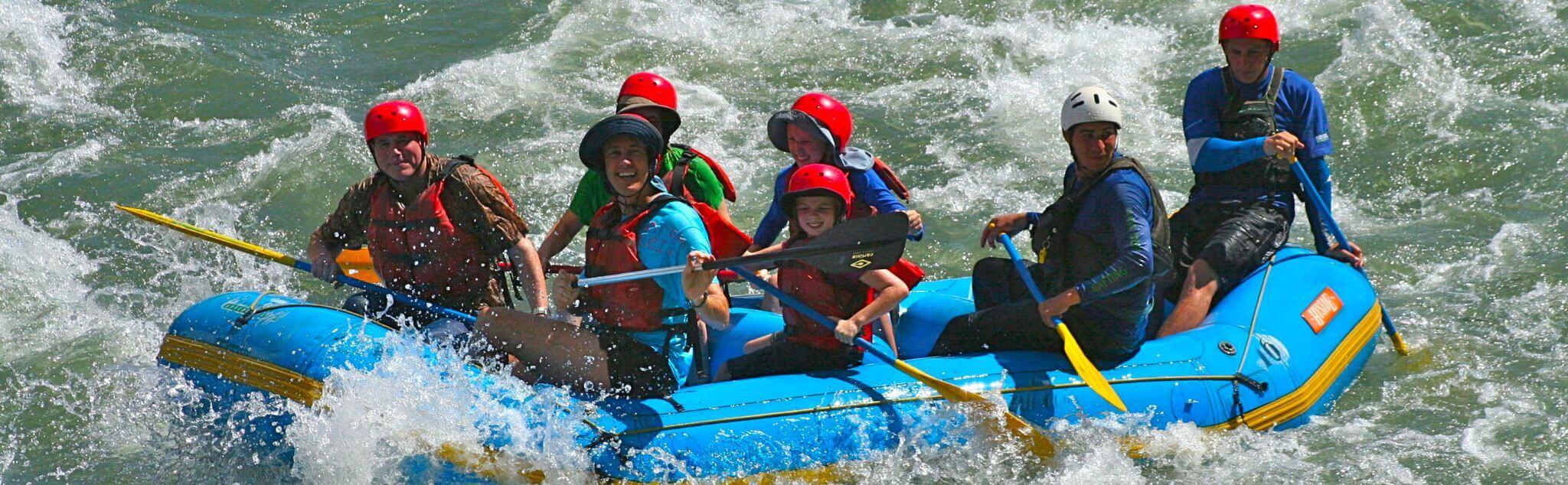 Rafting dans Aquitaine