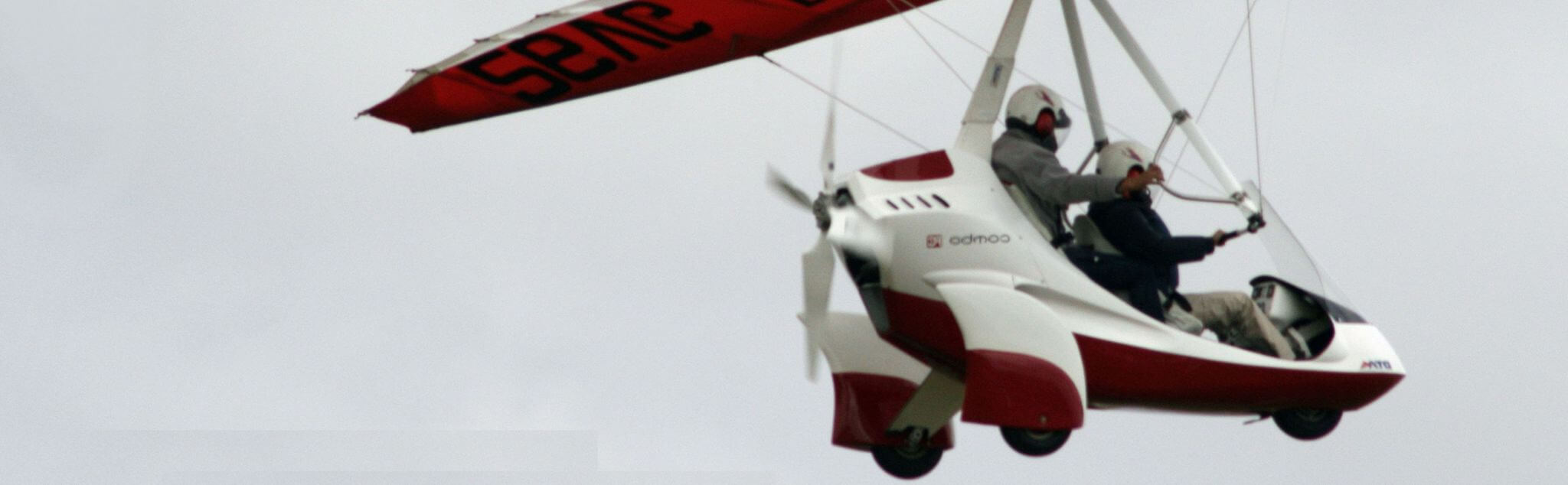 Vol en ULM dans Sarthe