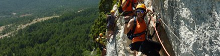 Groupe de Via Ferrata