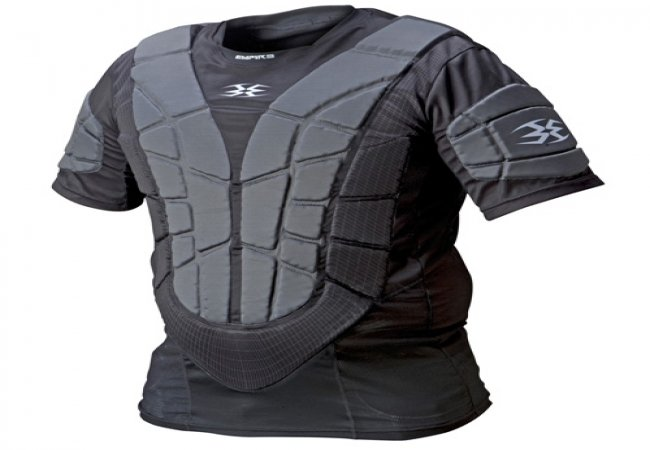 Plastron protection paintball