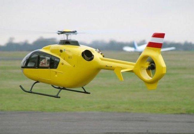 Hélicoptère jaune