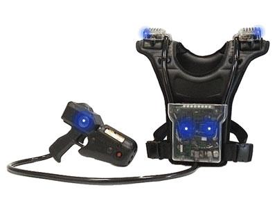 L'équipement de base en laser tag