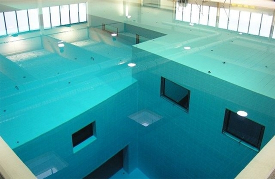Une fosse de plongée