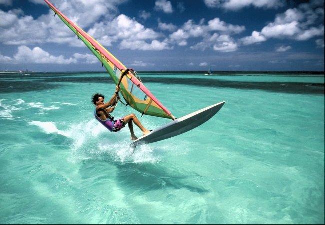 Windsurf sur une belle piscine ^^