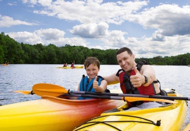 Canoe enfant