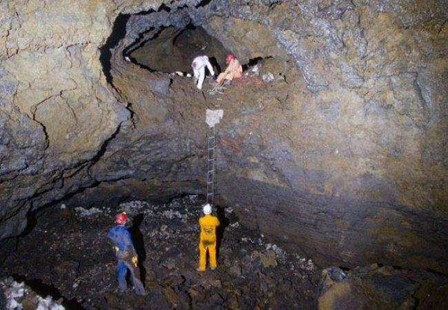 Grotte immense